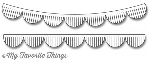 Die-namics Fringed Scallop Borders