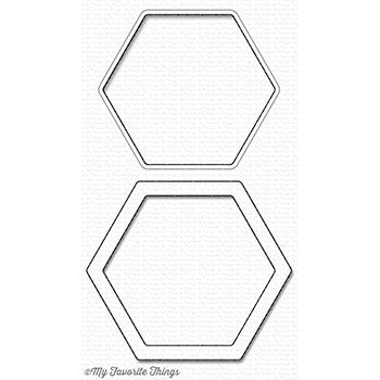Die-namics Hexagon Shaker Window & Frame