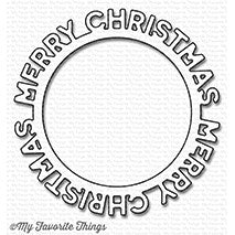 Die-namics Merry Christmas Circle Frame