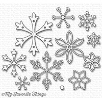 Die-namics Layered Snowflakes