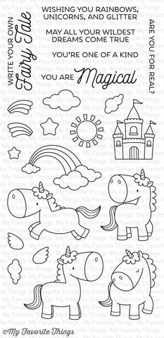 BB Magical Unicorns Stamp and Die Set