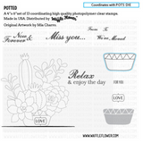 Potted Stamp Set