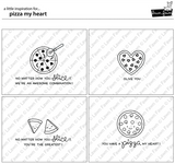 pizza my heart stamp