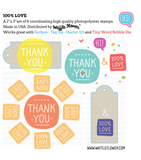 100% Love Stamp Set