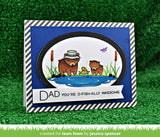 dad + me stamp and die bundle