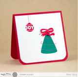 A Homemade Christmas Stamp Set