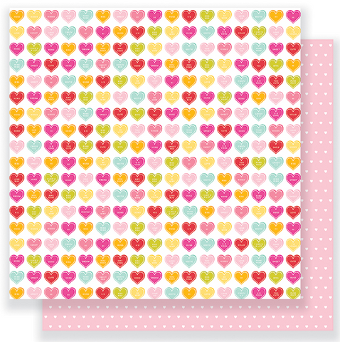 PAPER - PATTERNED - PB - BE MINE - SWEETHEART