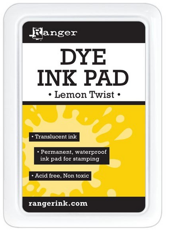 Ranger - Dye Ink Pad - Lemon Twist