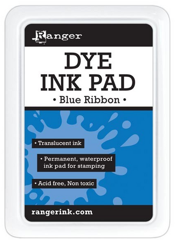 Ranger - Dye Ink Pad - Blue Ribbon