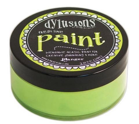 Ranger - Dyan Reaveley - Dylusions - Acrylic Paint - Fresh Lime