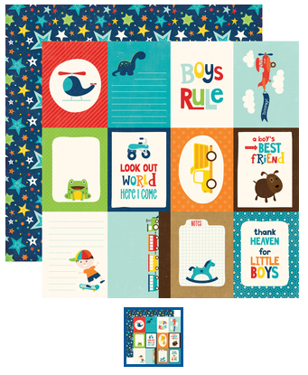 Little Man - 3x4 Journaling Cards