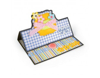 Sizzix - Framelits Die Set 22PK - Card - Bubbly Stand-Ups by Stephanie Barnard