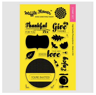 Holiday Labels - Give Thanks Stamp Set