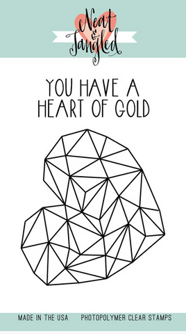 Heart of Gold - Stamp