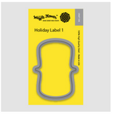Holiday Label 1 Die