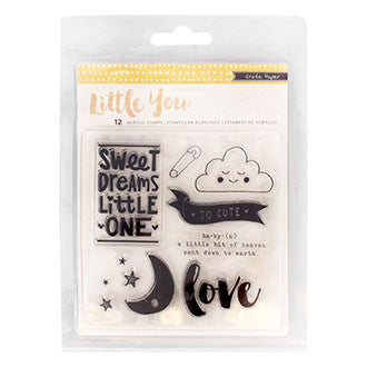 Stamps - CP - Little You - Acrylic (12 Piece)