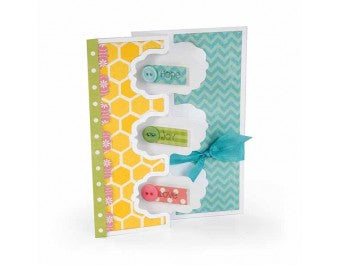 Sizzix - Framelits Die Set 9 Pack - Card - Triple Fancy Frame Flip-its