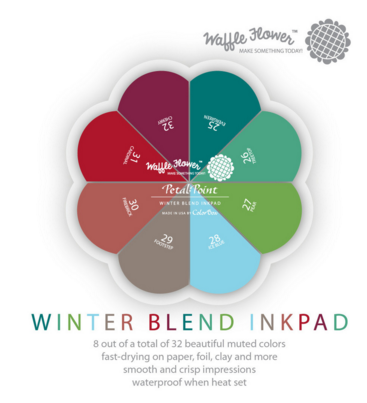 Petal Point - Winter Blend Inkpad