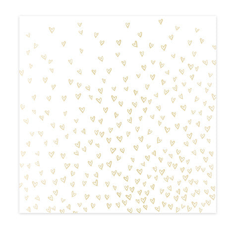 SPECIALTY PAPER - CP - HELLO LOVE - VELLUM - GOLD FOIL - DEAREST