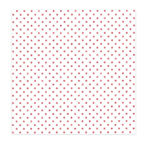 SPECIALTY PAPER - CP - HELLO LOVE - ACETATE - PINK GLITTER - KISS ME