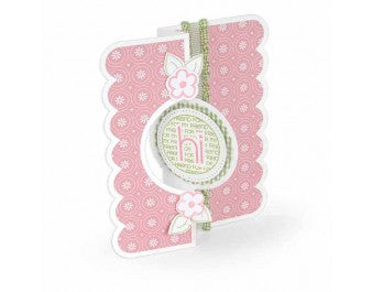 Sizzix - Framelits Die Set 11 Pack - Card - Circle Flip-its #2