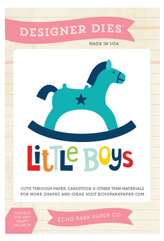 Little Man - Rocking Horse Die Set