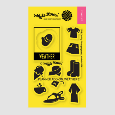 Planner Add-on: Weather 2 Stamp Set