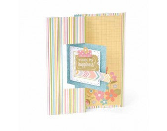 Sizzix - Framelits Die Set 12 Pack - Card - Square Flip-its #2