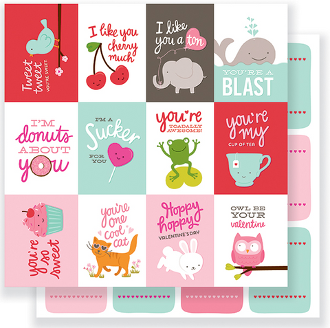 PAPER - PATTERNED - PB - BE MINE - VALENTINE'S