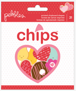 EMBELLISHMENTS - PB - BE MINE - EPHEMERA (31 PIECE)