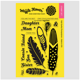 Feather More Stamp Set