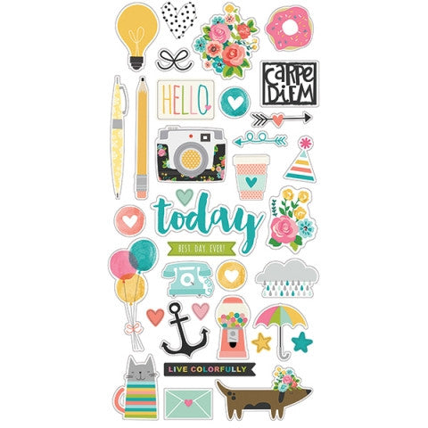 Carpe Diem Scrapbooking 6x12 Chipboard