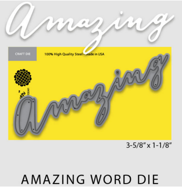 Amazing Word Die