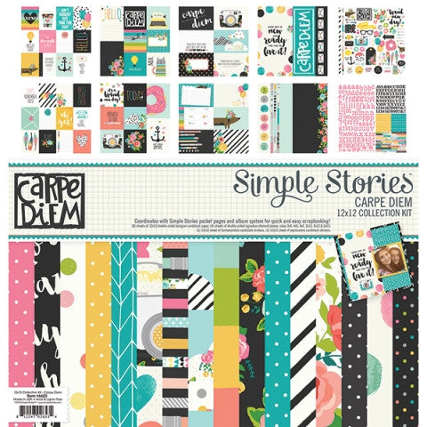 Carpe Diem Scrapbooking Collection Kit