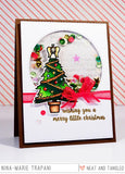 Merry Little Christmas Stamp and Die Set