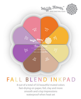 Petal Point - Fall Blend Inkpad
