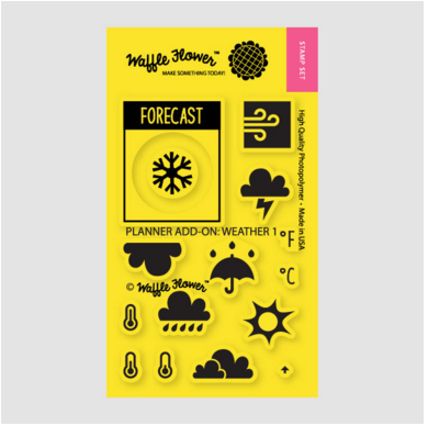 Planner Add-on: Weather 1 Stamp Set