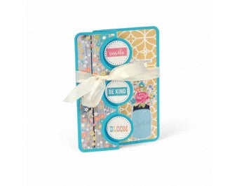 Sizzix - Framelits Die Set 10 Pack - Card - Triple Circle Flip-its