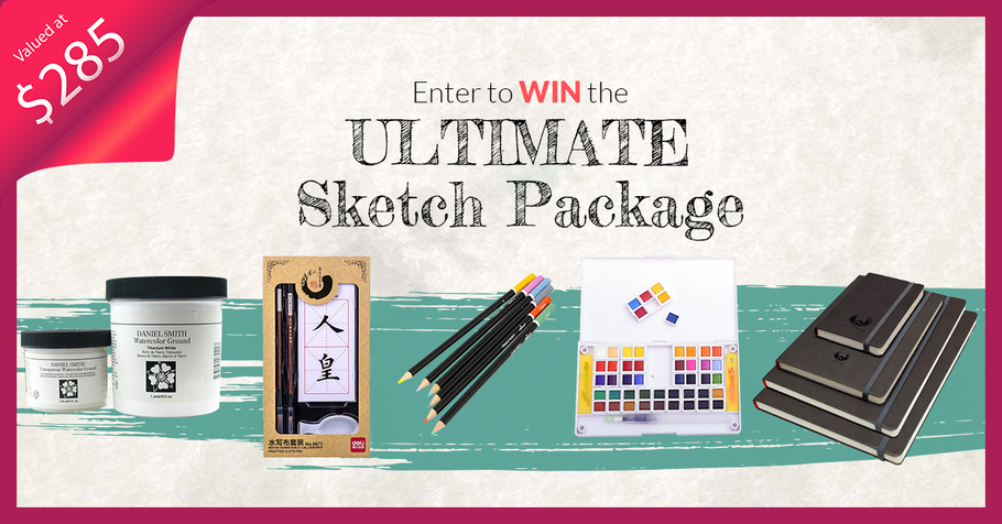 ULTIMATE SKETCH PACK GIVEAWAY