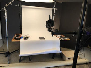 Behind the scenes of our latest photo shoot.