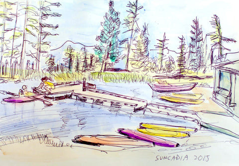 Suncadia Lake by GJ Gillespie