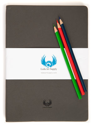 Leda Medium Sketchbook Twin Pack -- In Honor of Castor and Pollux
