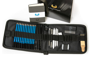 LEDA'S 34 Piece ULTIMATE DRAWING SET
