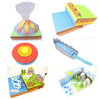 earth science origami organelle bundle