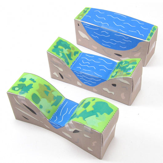 river valleys origami organelles