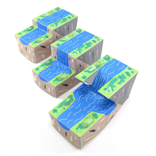 Waterfalls & gorges origami organelle