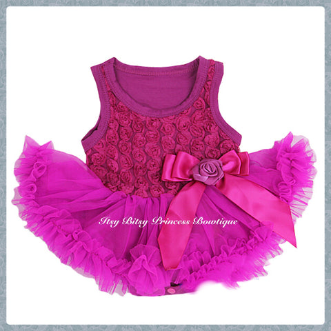 a6b9ad886 Ruby Wine Red Feather Pettiskirt Romper. $47 · Various Colours Rose  Pettiskirt Rompers (To Order)