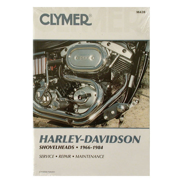 CLYMER SERVICE MANUAL 66-84 SHOVEL