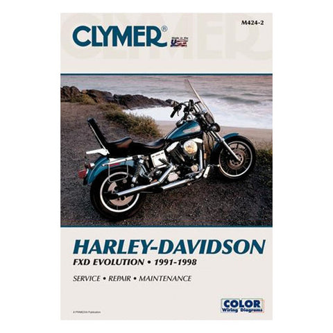 CLYMER SERVICE MANUAL 91-98 DYNA MODELS(NU)