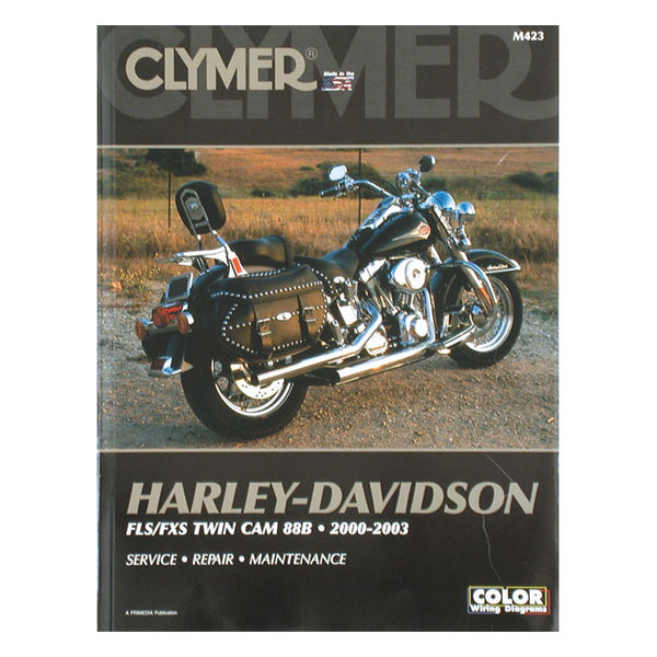 CLYMER SERVICE MANUAL 00-06 SOFTAIL(NU)